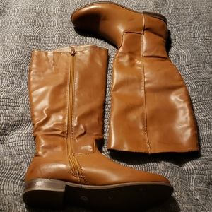 Mia girl full zip boots